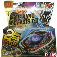 Metal Fight Beyblade BB-105 Starter Big Bang Pegasis F:D Fusion Top Launcher Toy