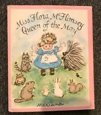 Miss Flora McFlimsey Queen of the May by Mariana Hardcover Book Dustjacket 1971