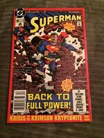 SUPERMAN #50 Engagement Issue Hard To Find NEWSSTAND Edition High Grade [DC]