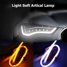 2x 60cm LED Switchback Headlight Phares DRL Diurne Feux de Jour Clignotant Lampe