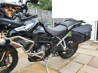 TRIUMPH TIGER 900 RALLY/GT/PRO PANNIERS XTRAVEL & C-BOW KIT HEPCO & BECKER 2020-