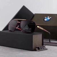 2018 BMW Brand Men's Sunglasses Polarized Classic UV400 Men Glasses Brand Box