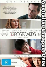 33 Postcards DVD NEW, FREE POSTAGE WITHIN AUSTRALIA REGION 4