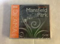 Jane Austen - Mansfield Park (3CD Audiobook 2007). BBC Radio 4 Full-Cast. NEW