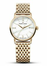 Maurice Lacroix Eliros Date Ladies Quartz Gold Plated watch Swiss Made RRP £750