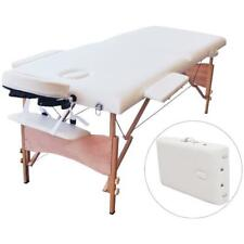 "Massage Table Portable Spa Bed Facial Beauty 84""L 2 Fold 34 Wide Massaging*Tatto"