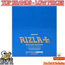 Rizla Blue King Size Slim Genuine Cigarette Smoking Rolling Papers Original X1