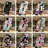 Pattern Ring Holder TPU+PC Case Hard Cover For iPhone 11 Pro Max XS XR X 8 7
