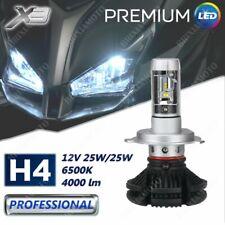 FRONT LIGHT H4 1 BULB LED X3 12V 4000 LUMEN FOR PIAGGIO VESPA GTS 300 2018-2019