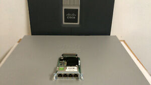 CISCO EHWIC-4ESG 4-Port Gigabit WAN Interface Card 1900 2900 3900 3900E Router