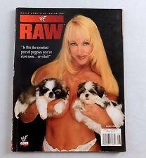 Debra August 1999 Steve Austin Poster WWE WWF RAW Wrestling Magazine