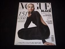 2006 SEPTEMBER DUTCH VOGUE MAGAZINE- HANNA SUBKOWA - FASHION FRONT COVER - J1721