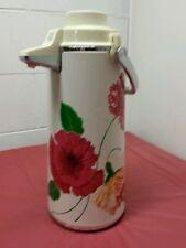 Vintage Elephant Brand Floral Air Pot (Zojirushi Vacuum Bottle Company)