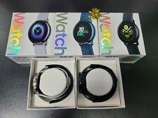 Samsung Galaxy Watch Active SM-R500NZKATT 1.1in. 40mm Smartwatch - Black (NEW)