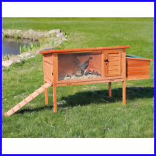 [No Tax] Trixie One-Story Chicken Coop with Exterior Ramp, Cage