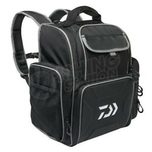 Daiwa Fishing Tackle Backpack Bag 4 Box Stack