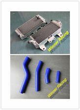 Yamaha WR450F 2007 2008 2009 2011 aluminum radiator &blue hose kit