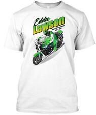 """Steady"" Eddie Lawson #21 Kawasaki AMA Superbike T-Shirt, S-XXXL, dif. Colors"