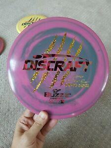 Rare Discraft ESP BUZZZ Paul McBeth 4X  First Run Disc Golf 1st Run Swirly Claws