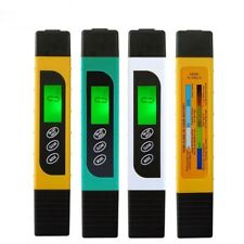Test Pen TDS Water Meter Drinking Backlight Purity Temperature Check Moisture