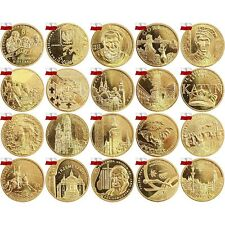 Poland 2 zl 2010 Complete FULL year All 20 coins Set Zloty