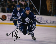 Toronto Maple Leafs Darby Hendrickson Signed Autographed 8x10 Photo COA C