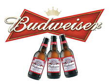 Budweiser Beer Logo Edible Party Cake Image Topper Frosting Icing Sheet