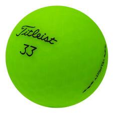 48 Titleist Velocity Matte Green Mint Used Golf Balls AAAAA *In a Free Bucket!*