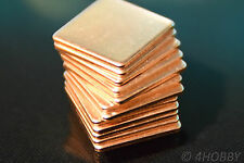 Set 12 cuivre plaquettes kupferpad chaleur chef CPU wärmeleitplättchen chaleur pad