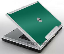 GREEN Vinyl Lid Skin Cover Decal fits Dell Inspiron E1705 9200 9300 9400 Laptop