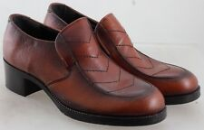 Morgan Quinn 2 Tone Brown Leather Women'S Quality Shoes Us 7 Union Made In Usa