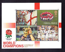 GB 2003 SGMS2416 Rugby World Cup Victory mini-sheet - unmounted mint. Cat £14