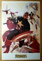 Avengers 4 Captain America Marvel Comics Poster by Alex Ross