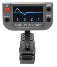 Korg AW-OTB-POLY - Polyphonic Clip-on Tuner for Bass Guitar