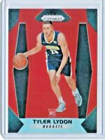 2017 Panini Prizm TYLER LYDON Orange Refractor SP RC /49 RC Nuggets