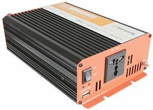 12Vdc Pure Sine Wave Inverter 600W, 255 x 150 x 70mm [652.102UK]