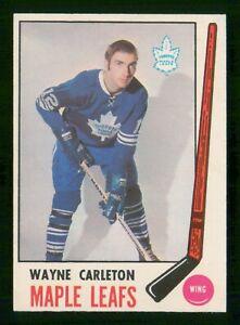 WAYNE CARLETON 1969-70 O-PEE-CHEE 69-70 NO 184 EX+  30324