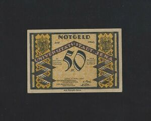 Germany  -  Jena 50 Pfennig 1921 NOTGEL UNC