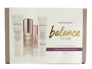 bareMinerals Balance To-Go Kit Normal to Combination Skin Travel Set