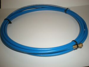 STEEL LINER 4MTR TO SUIT MB15/25  MIG WELD TORCH FOR 0.6 - 0.9mm (Blue Coated)
