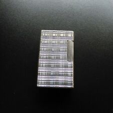 S T Dupont for Hermes Line1 Large Lighter  - Silver Plated Finish