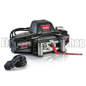 Warn VR Evo 8 12v Steel Rope Electric Winch with Wireless