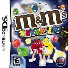 M&M's: Break 'Em (Nintendo DS, 2007)