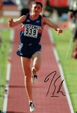 Jonathan EDWARDS Autograph Signed Photo A AFTAL COA British Athlete Triple Jump