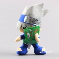 Anime NARUTO Hatake Kakashi Plush Toy Stuffed Doll 8'' Figure Kids Gift
