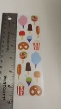 Mrs Grossmans stickers CARNIVAL FOODS 6.5 inch sheet
