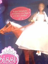 EXTRA RARE!  SISSI SISSY PRINCESS ON THE HORSE BIG DOLL GIOCHI PREZIOSI NEW BOX