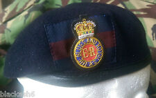 Blues & Royals Household Cavalry Officers Beret & Cloth Cap Badge Sizes 56-62