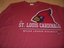 MAJESTIC ST LOUIS CARDINALS SHORT SLEEVE RED T-SHIRT MENS XL EXCELLENT