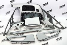 Audi Q7 4M Dekorleisten Leisten Kunststoff silber interior strips 4M1864261A